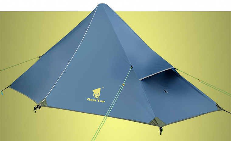 Pyramid tent & Types of Tents: The Ultimate Guide - Cool of the Wild