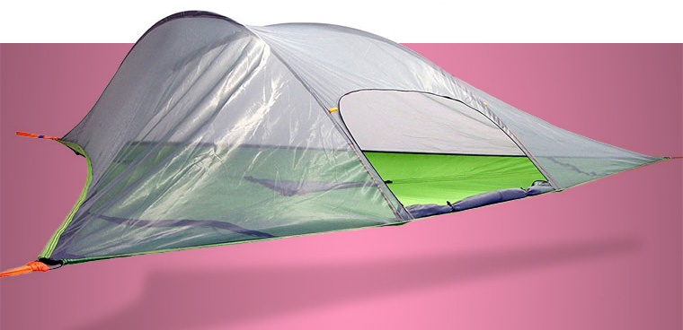 Suspended tent