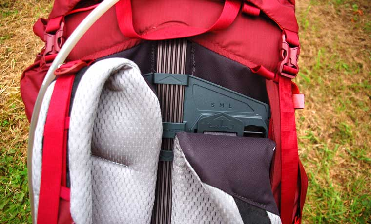 shoulder strap adjustment