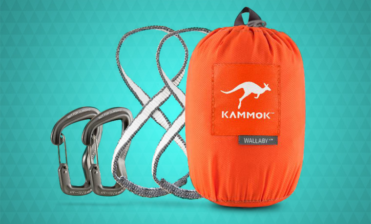 Kammok Wallaby Hammock packed small