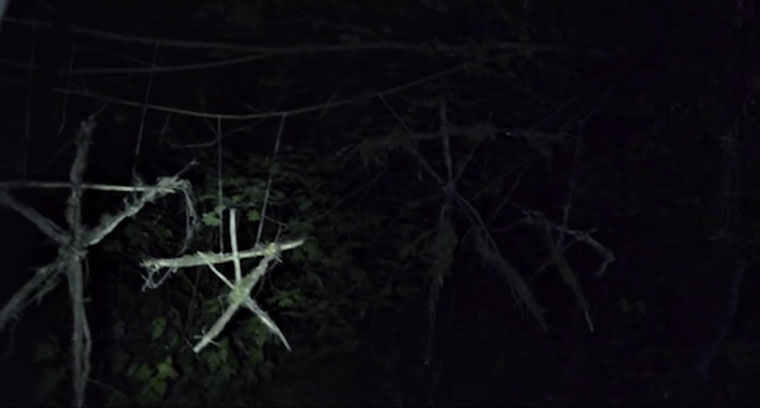 Blair witch stick people