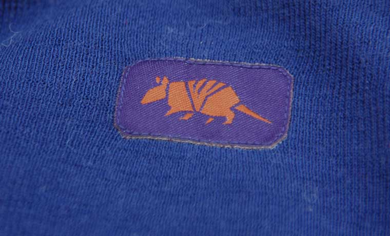 Armadillo label