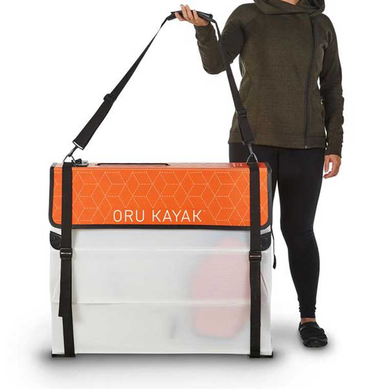 Kayak in box