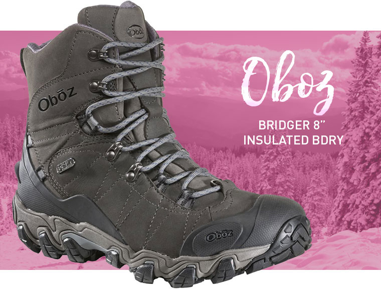 Oboz Bridger 8 Insulated BDry Hiking Boot