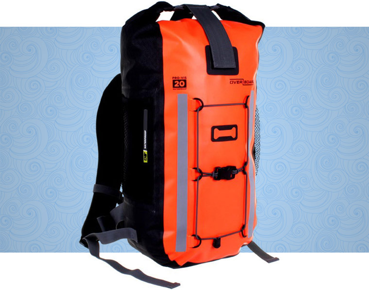 overboard-pro-vis-waterproof-backpack-20-litres-side-ob1157hvo