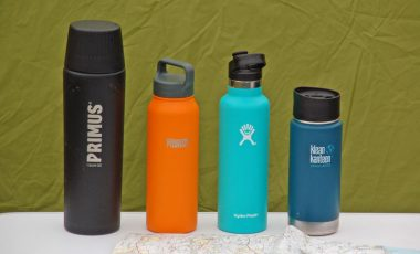 The best thermos flasks on table
