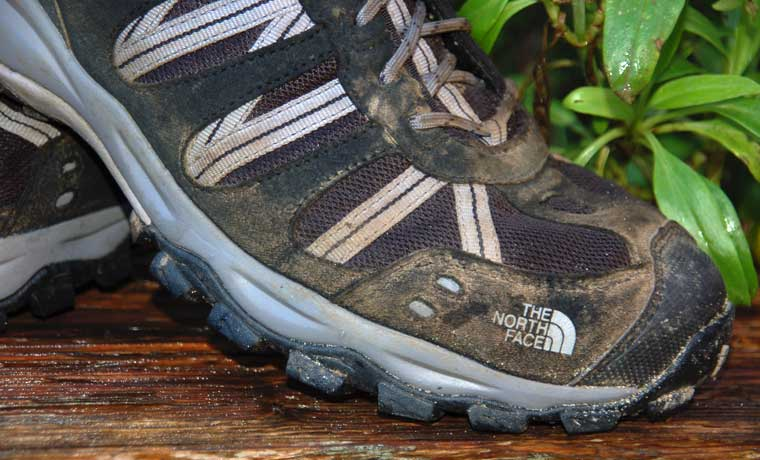 Lugs of hiking shoes