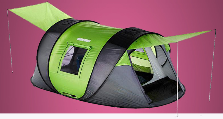 The Cinch pop up tent