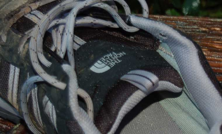 Tongue of hiking shoes