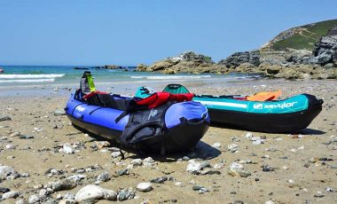 The best inflatable kayaks on the beach