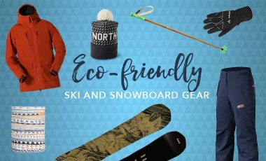 Eco-friendly ski gear