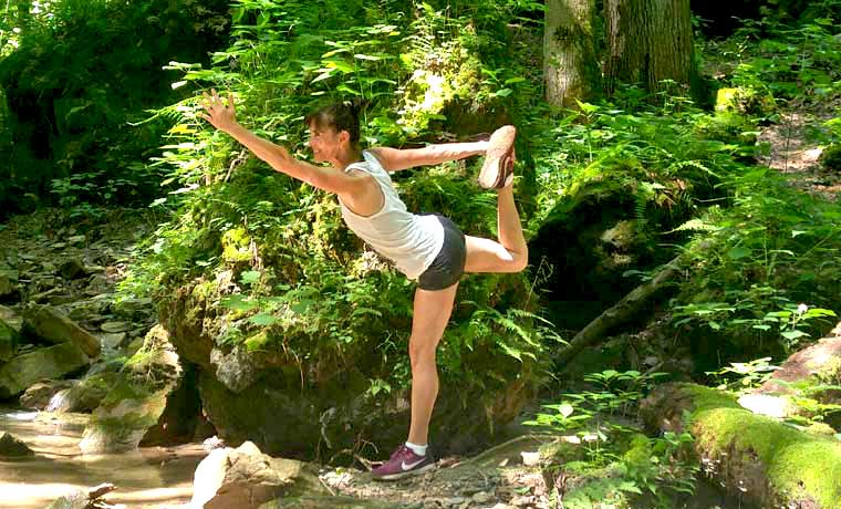Yoga for backpackers