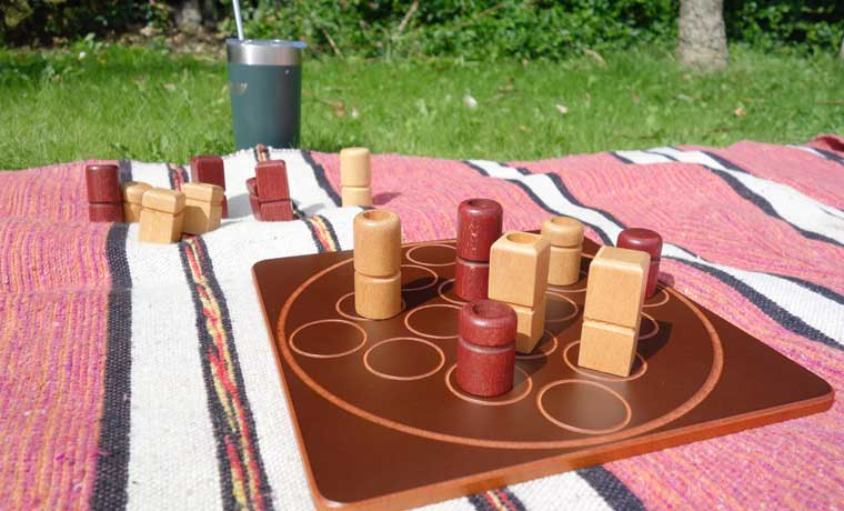Camping board game