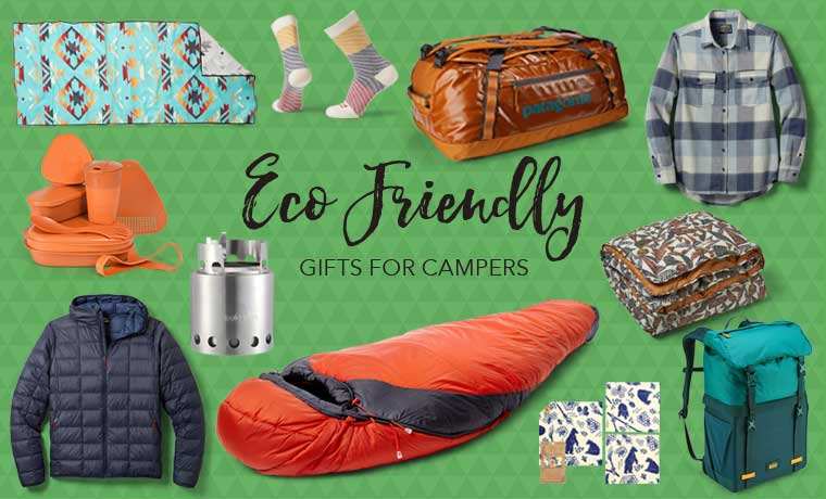 Eco friendly gifts for campers