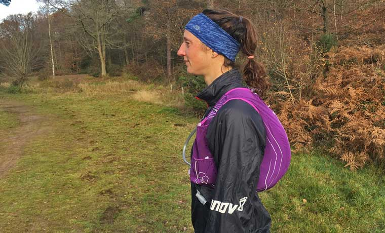 Profile of running carry pack